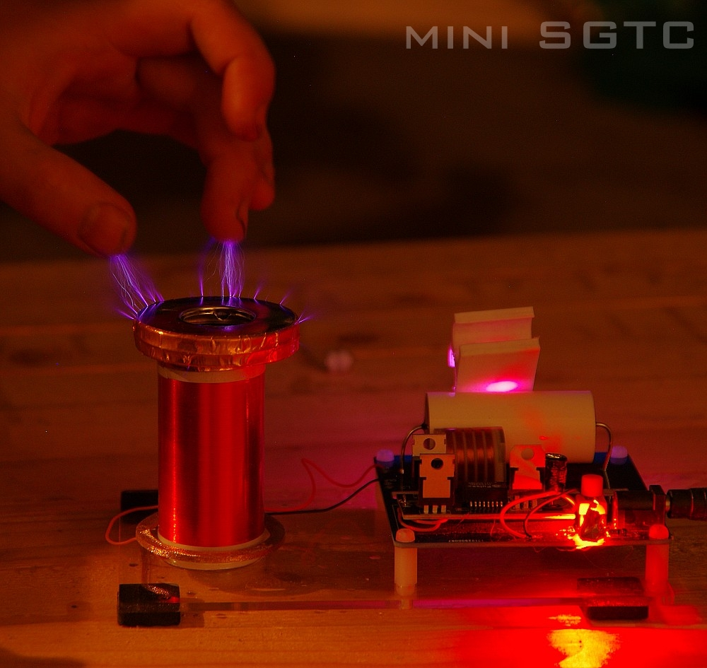 How To Build Mini High Voltage Generator