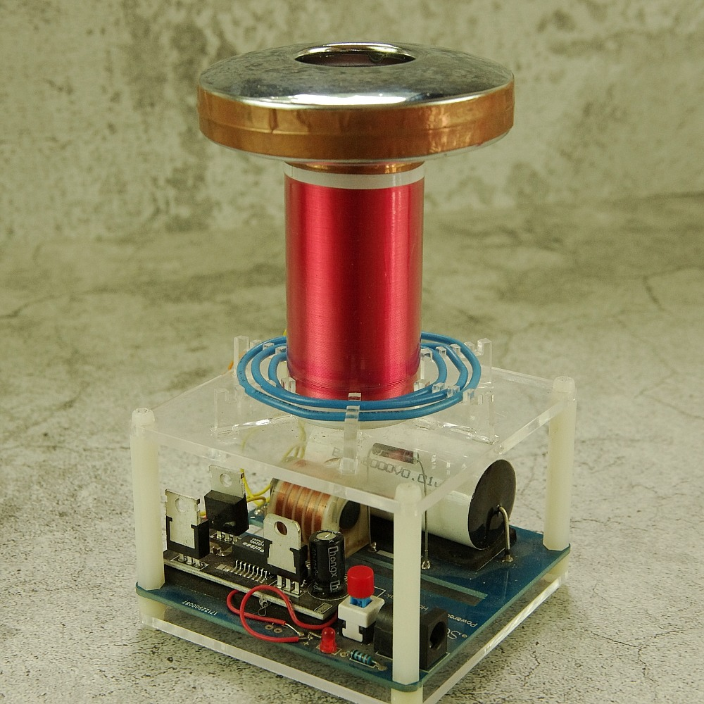 mini tesla coil diy – HandsMagic